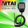HM-118TN Mobile Radio Microphone with Keypad