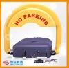 durable parking lock with water-proof remote control with high quality