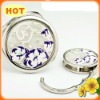 2012 moat fashion factory newest desgin pocket mirror keychain