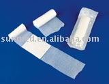 Wound dressings rolled