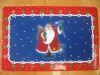 New pattern christmas pp place mat
