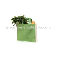 Jute grocery shopper bag