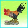 Rooster statue for garden decoration