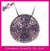 925 sterling silver cz micro pave pendant brass zircon setting jewelry