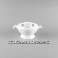 Western style fine bone china pot warmer