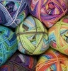 acrylic mix colour yarn