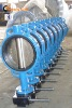 Cast iron butterfly valve.