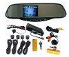 3.5 inch Mirror Parking Sensor system with camera LD05-BB-4