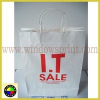 original white Kraft paper bag
