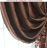 Hot sale!YJ465 100% Polyester luxury thick blackout curtain design photos