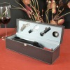 wooden wine set box