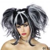 Wholesale fashionable synthetic cheap party girl wigs Scary Spice Pop Girl Party Wig