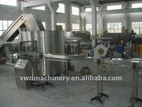 PET bottles unscrambler supplier/full automatic bottles unscrambler machine
