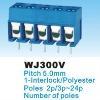 PCB Screw Terminal Block WJ300V 5.0mm