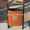 Environmental Outdoor WPC Dustbin(wood plastic composite)