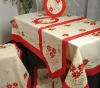 Christmas holiday tablecloth