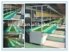 In seated PVC flowing- water producting line