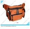 small yellow fashion zipper waist bag