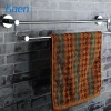 bathroom metal wall-mounted towel shelf