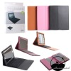 For The New iPad3/ipad2 Bluetooth keyboard Leather Case