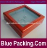 Luxury Wooden Necklace Box with a Window